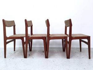 Unique Dining Chairs Luxury Teak Dining Chairs by Erik Buch 1960s Set 4
