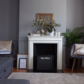 Victorian Houses Interior Design Ideas Fresh Grey Living Room Victorian House Cornice Fireplace Mantel