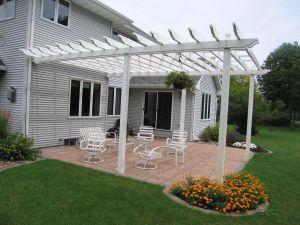 Vinyl Pergola Design Unique Pergola attached to House Roof Lapergolamillburn Id
