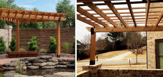 Vinyl Pergola Design Unique Project Plans Corner Pergola Free Standing & attached