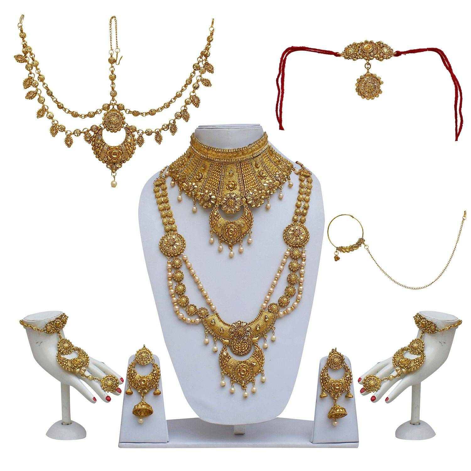 Lucky Jewellery Bridal Golden Color SDL 1 bc29b