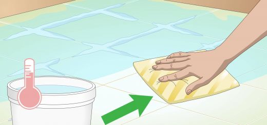 What to Use to Clean Bathroom Tile Unique 3 Ways to Clean Tiles Wikihow