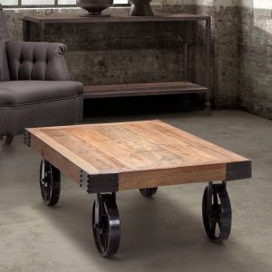 Wheeled Coffee Table Fresh Have to Have It Zuo Modern Barbary Coast Cart Table