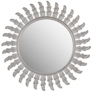 White Decorative Wall Mirror Inspirational Sunburst Inca Sun Decorative Wall Mirror Gray Safavieh