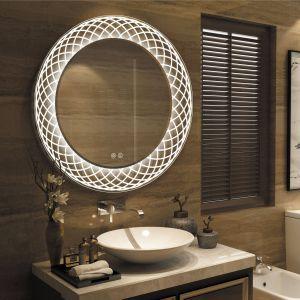 White Decorative Wall Mirror New Frameless Wall Mounted Led Bathroom Mirror White