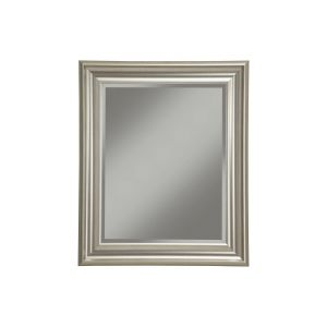 White Framed Decorative Mirror Best Of Sandberg Furniture Champagne Silver 36 X 30 Inch Wall Mirror Champagne Silver A N
