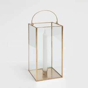 White Lantern Home Decor New Glass and Gold Metal Lantern Lounge In 2019