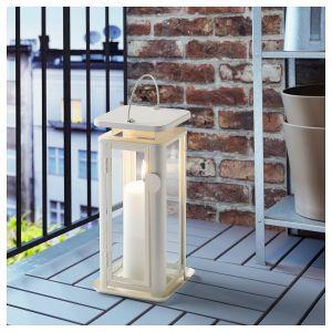 White Lantern Home Decor New Ikea Sinnesro White Lantern for Candle Indoor Outdoor