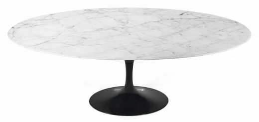 White Marble Tulip Table New Tulip Table Oval Carrara