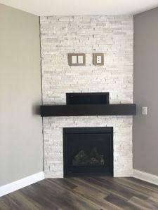 White Stone Fireplace Inspirational Pin On Fireplace Ideas We Love
