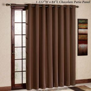 Window Treatment Ideas for Sliding Glass Doors Elegant Ultimate Blackout Grommet Patio Panel