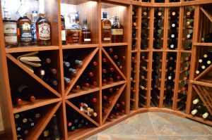 Wine Cellar Designer Awesome Custom Wooden Racking In Multiple orientations Allow for