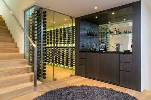 Wine Cellar In Floor Awesome 9133 oriole Way Carmelina Basement