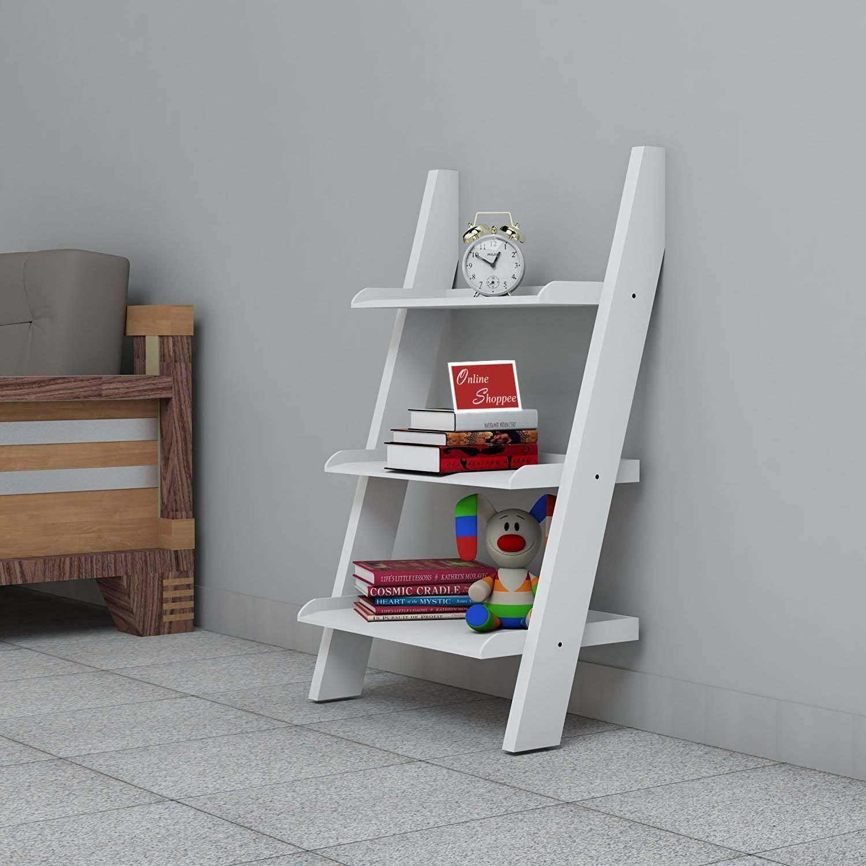 lineshoppee Escalera Leaning Bookcase Ladder SDL 2 629cf