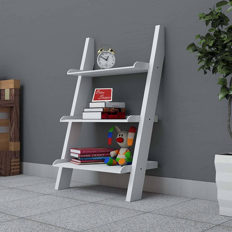 lineshoppee Escalera Leaning Bookcase Ladder SDL 1 f2650