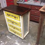 Wooden Crate Ideas Unique My Pepsi Crate Cabinet Diy Ideas In 2019