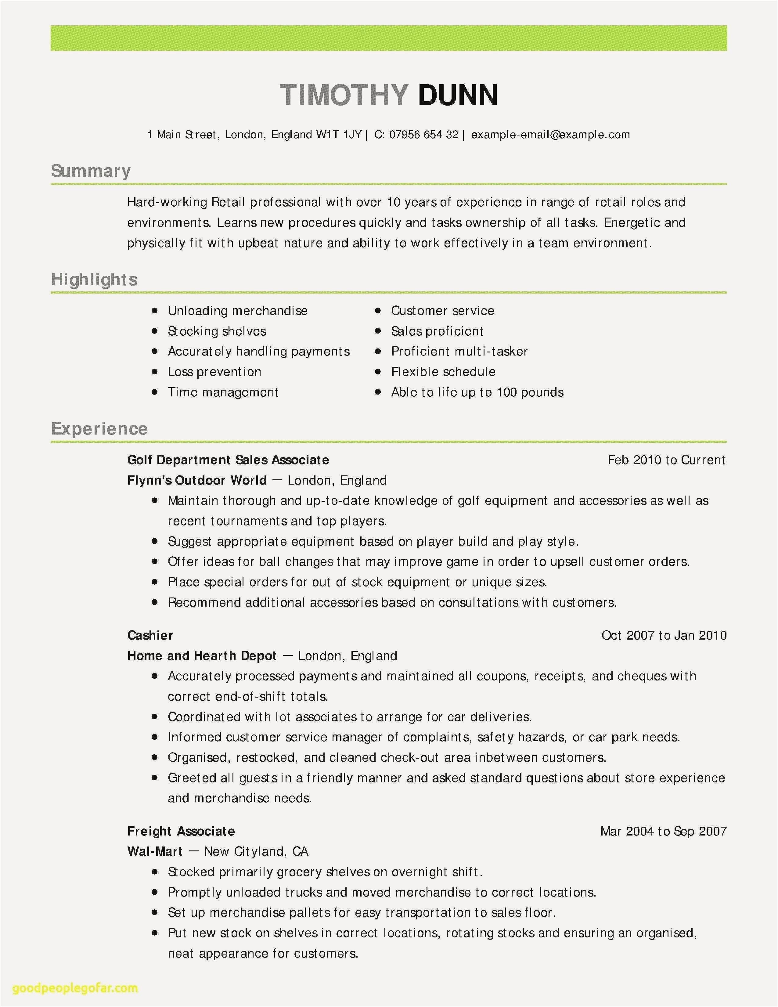 How To Write A Receipt Resume Format Samples Sample Resume Skills Fresh Resume Examples 0d How To Write A Receipt