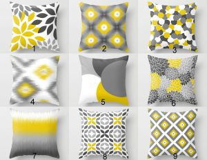 Yellow Decorative Pillow Covers Fresh Throw Pillow Covers Yellow Grey White Couch Cushion Covers Home Decor Living Room Pillow Throw Pillow Covers Decorative Pillows