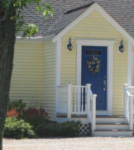 Yellow Exterior Door Awesome Yellow House Blue Door Done In 2019