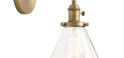 Battery Operated Sconces Awesome Permo Single Sconce with Funnel Flared Glass Clear Glass Shade 1 Light Wall Sconce Wall Lamp Antique