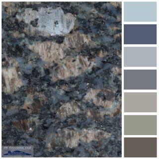 Blue Fire Granite Elegant Sapphire Blue Granite In 2019