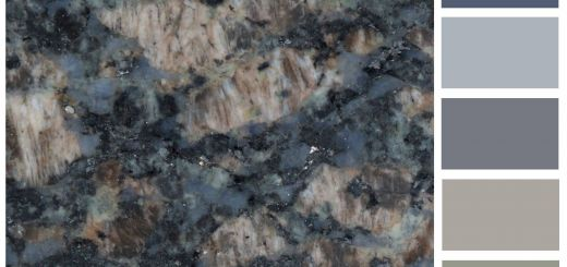 Blue Fire Granite Elegant Sapphire Blue Granite In 2019