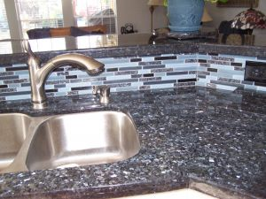 Blue Fire Granite Inspirational Blue Pearl Granite with Matching Backsplash This is Going