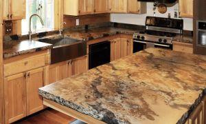 Blue Fire Granite New Signature Concrete Countertops – Custom Built Concrete