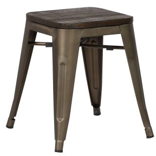 Bronze Counter Stools Unique Edgemod Trattoria 18 In Stool Set Of 4 Elmwood Bronze