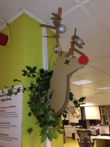 Chrismas Design for Office Best Of Rudolph Office Decoration
