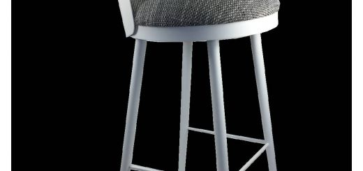 Comfortable Bar Stools Fresh Lili Chic and fortable Bar Stool In Metal