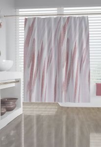 Contemporary Shower Curtains Best Of Rose Gold Abstract Brushstroke Fabric Shower Curtain