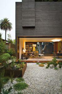 Contemporary Style Home Unique Modern House Venice California