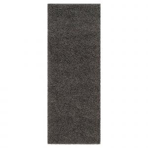 """Dark Gray Carpet Luxury Dark Gray solid Loomed Runner 2 3""""x10 Runner Safavieh"""