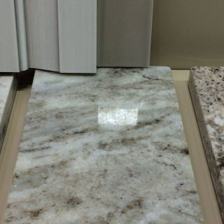 Fantasy Brown Marble New Fantasy Brown Granite with Plank 16 Deep Clay Backsplash