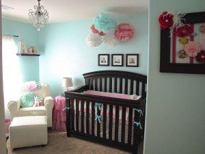 Girl Nursery Ideas Inspirational the Modest Homestead Ava S Pretty Pink and Aqua Nursery