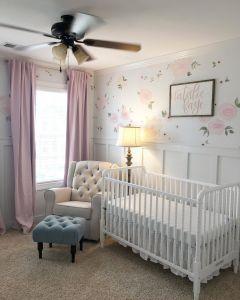 Girl Nursery Ideas Unique Baby Girl Nursery Floral Walls Floral Nursery Pink