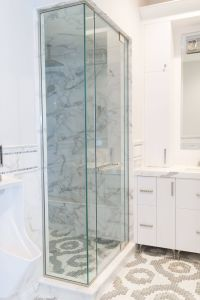Glass Bathroom Doors New Frameless Clear Glass Shower Enclosure Door 2 Inline