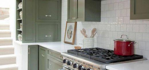 Green Kitchen Cabinets Inspirational 17 Best Green Kitchen Cabinets Design Ideas 6 In 2019