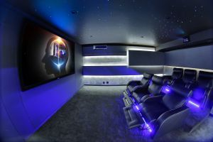 Home theater Ideas Unique Bnc Technology Dunvegan House Home Cinema In 2019