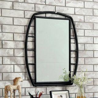 Industrial Wall Mirror Inspirational Furniture Of America Ryan Industrial Metal Framed Mirror