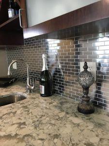 Kitchen Backsplash Photos Lovely 35 Challenging Green Glass Tile