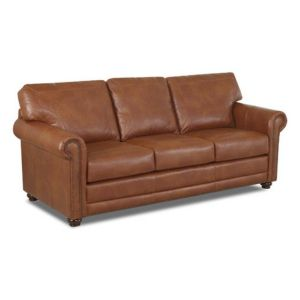 Luxury Leather sofas Elegant Klaussner Sherman Leather sofa In 2019 Products