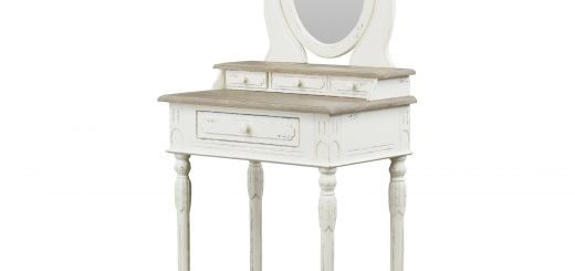 Makeup Vanity Set Luxury Baxton Studio Anjou Dressing Table with Mirror Plm5vm M B