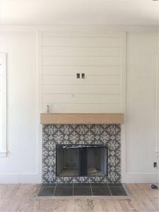 Marble Tile Fireplace Elegant 24 Glass Tile Fireplace