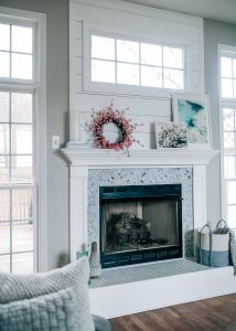 Marble Tile Fireplace Lovely Fireplace Makeover Reveal with the Home Depot X Pretty In