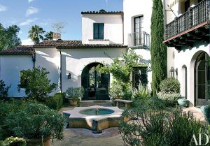 Mediterranean Style Homes Unique Look Inside A Mediterranean Style Residence In Los Angeles