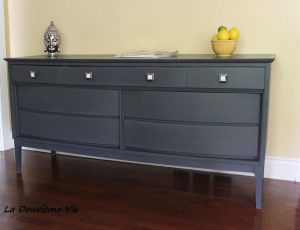Mid Century Dresser Lovely Mid Century Modern Dresser Painted with Mix Of Graphite and