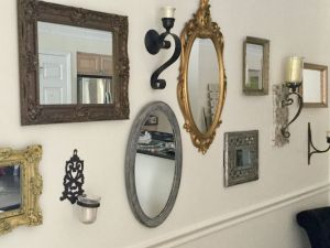 Mirrored Wall Sconce Luxury My Dining Room Vintage Mirrors and Sconces Look Positively