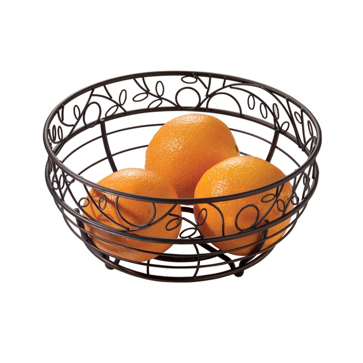 InterDesign Twigz Fruit Bowl Bronze